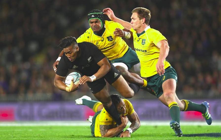 Match highlights of New Zealand AllBlacks versus Australia