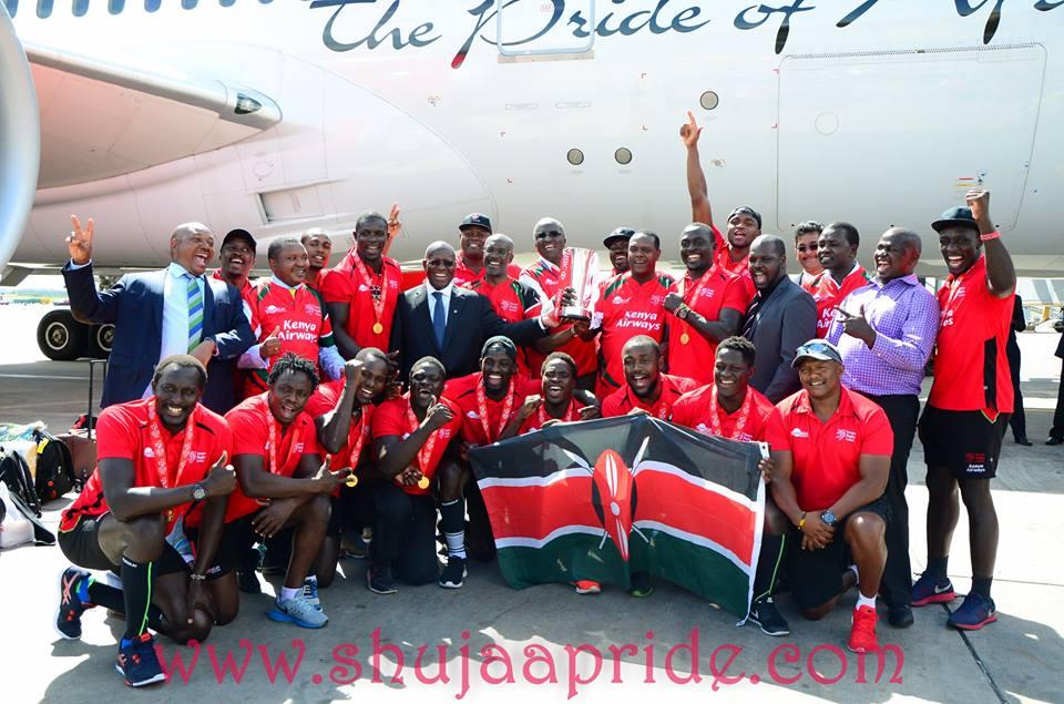 Kenya Sevens Provisional Training Squad