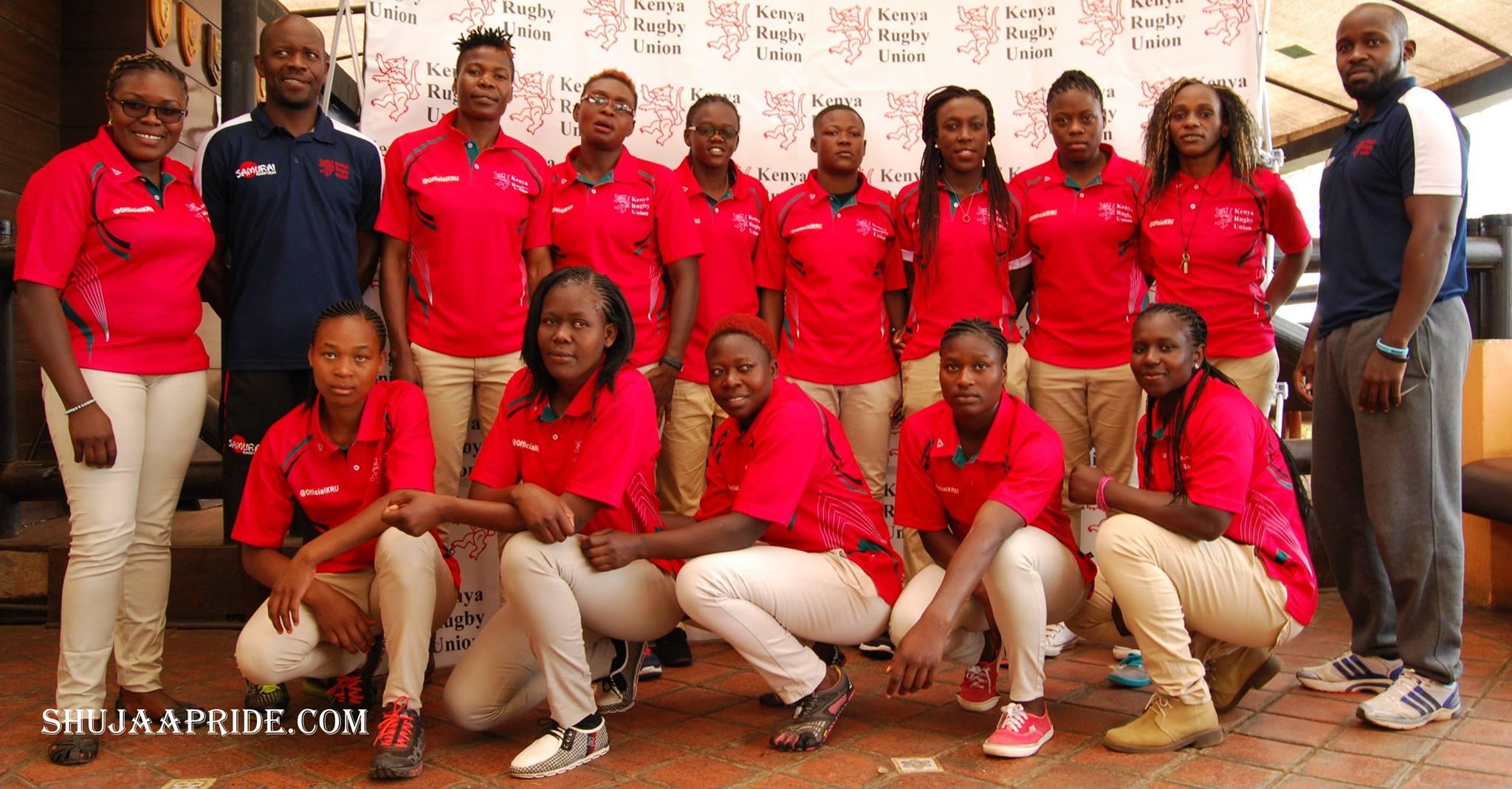 Head coach Kevin Wambua names the Kenya Lionesses Squad for dubai 7s