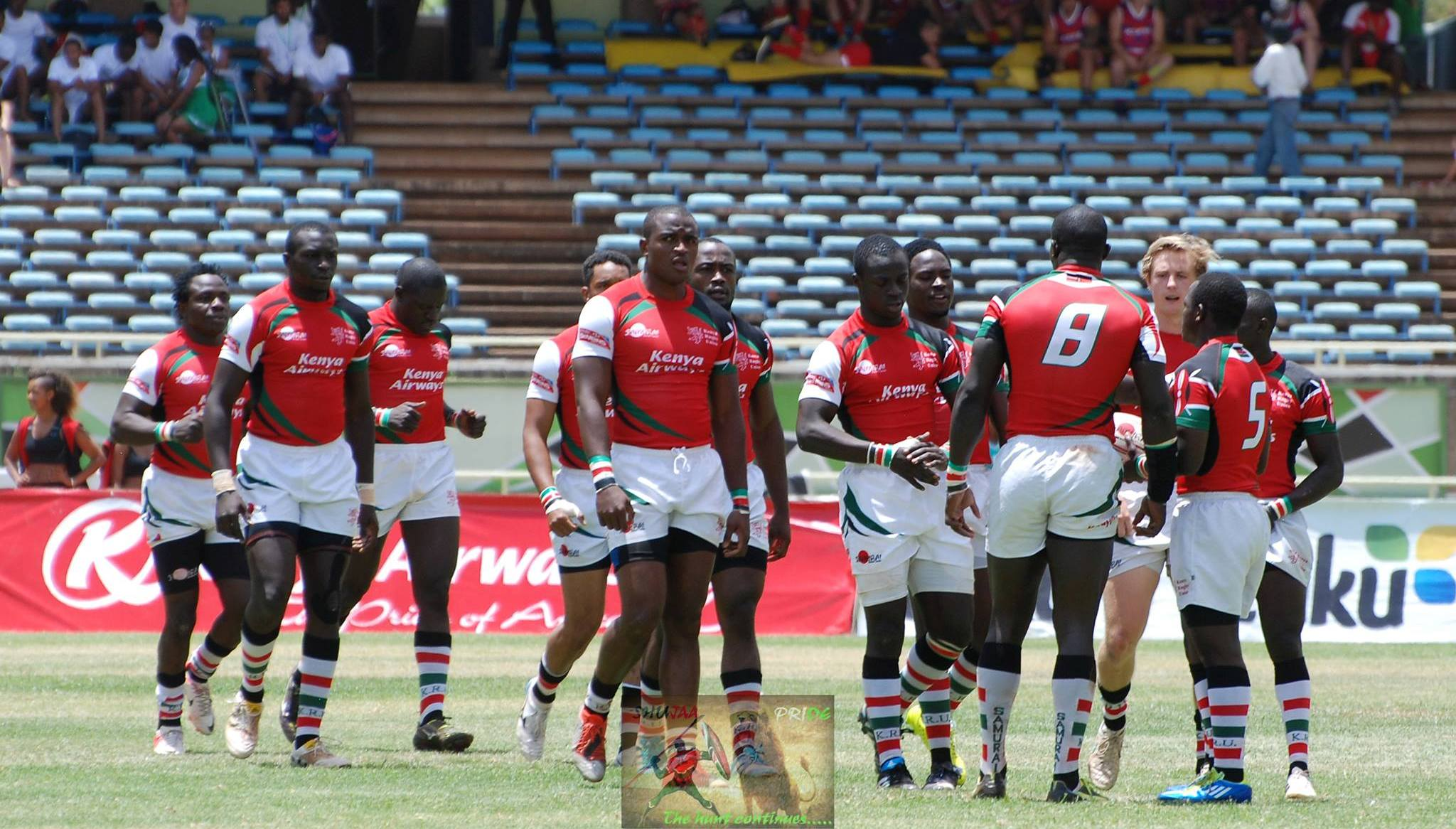 Kenya 7s Squad for dubai 7s and cape town 7s