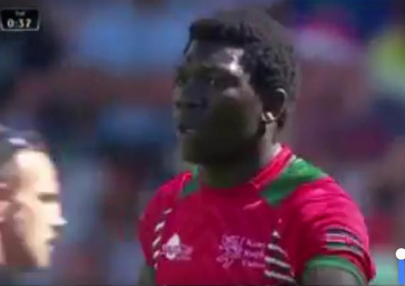 Video : Uncle Billy gifts his nephew Owila his first try in World Rugby 7s