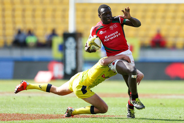 Video : Kenya sevens vs Australia   Wellington 7s 2017