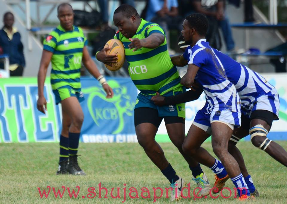 George Asin leads KCB Rugby in the Bazokizo Dance Challenge