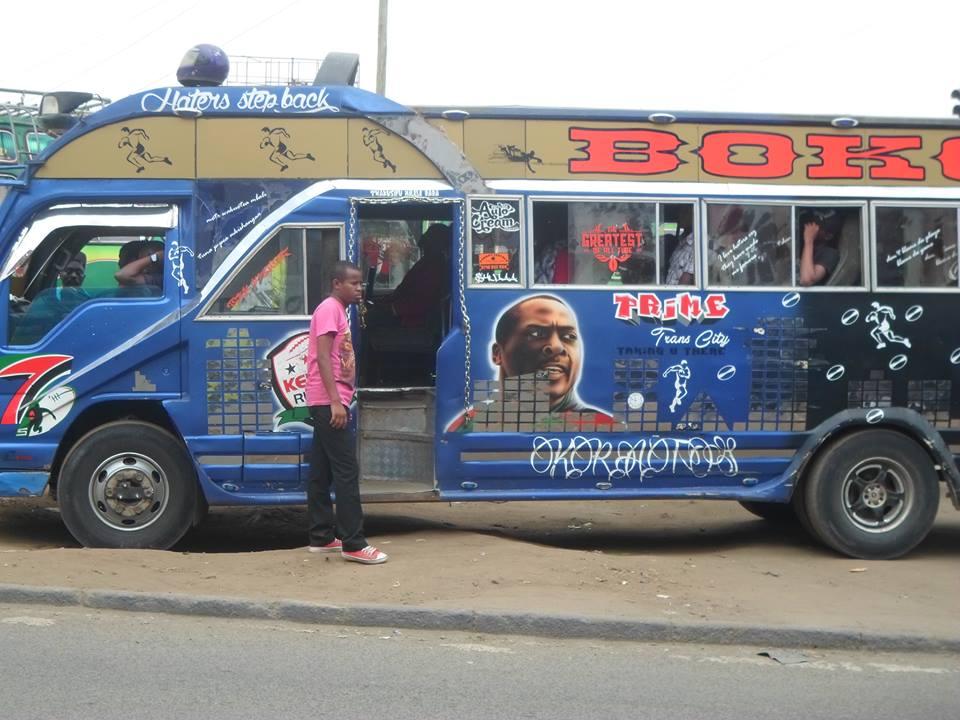 Kenya Rugby 247, Poed The Brand, Shujaa Pride Isuzu Matatu Graffiti