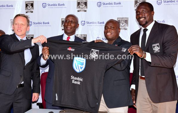 Stanbic Bank signs Ksh3m sponsorship deal with Mwamba RFC
