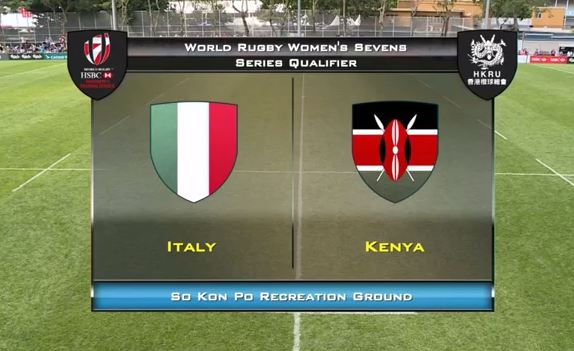 Full match : Italy vs Kenya Lionesses - Hong Kong 7s (Video)