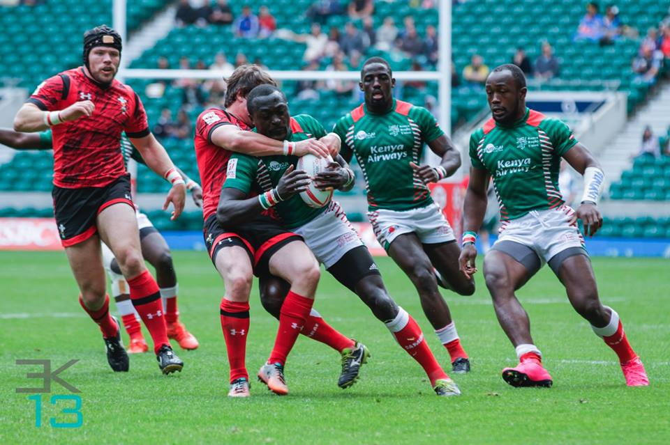 Kenya sevens squad to Paris and London 7s