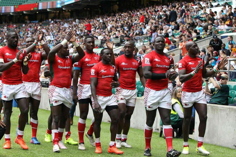 Kenya sevens squad to Dubai 2017