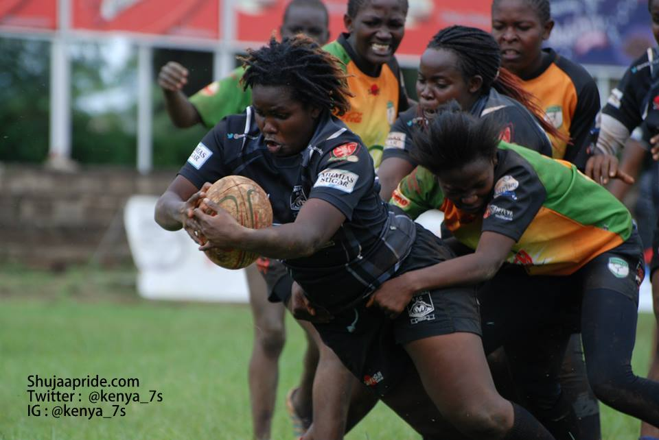 KRU Women's 10s league try scorers