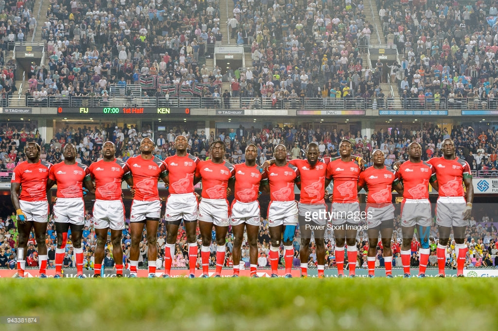 Kenya 7s Try Scorers At The 2018 Hong Kong 7s Tournament