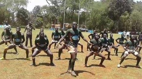 The Kakamega High School Rugby HAKA