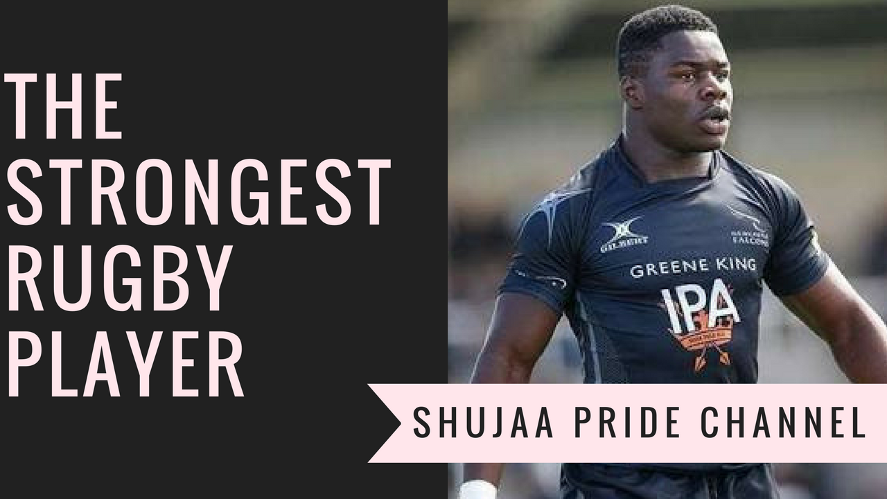 The strongest rugby player ~Joshua Chisanga