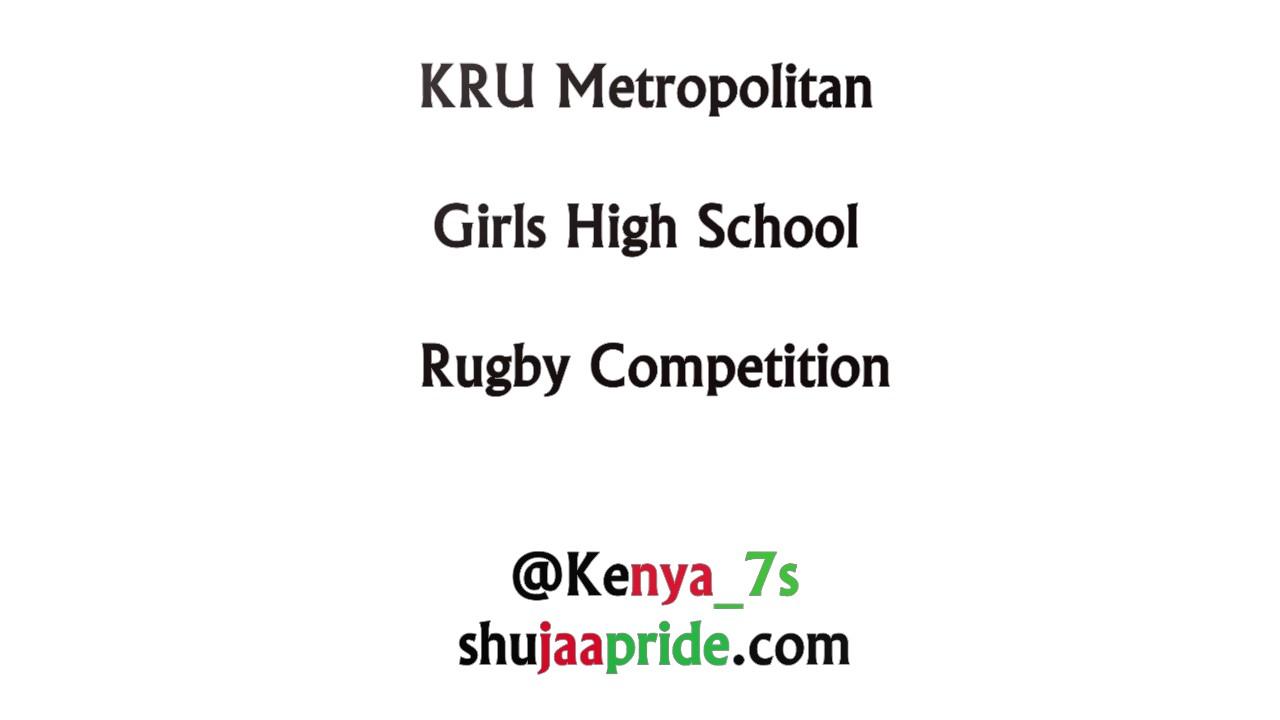 KRU Metropolitan Girls High School Rugby Competition